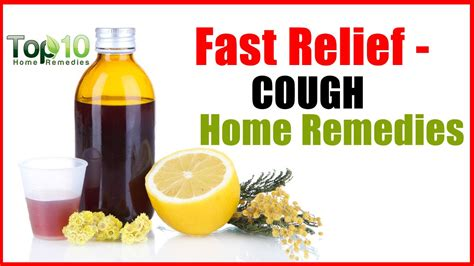 cough home remedies fast relief