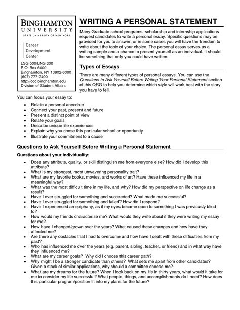 Resume Structure Exles by How To Write A Personal Statement For A Resume 28 Images