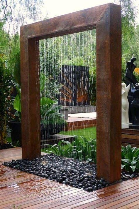 outdoor water fountains   home diy garden