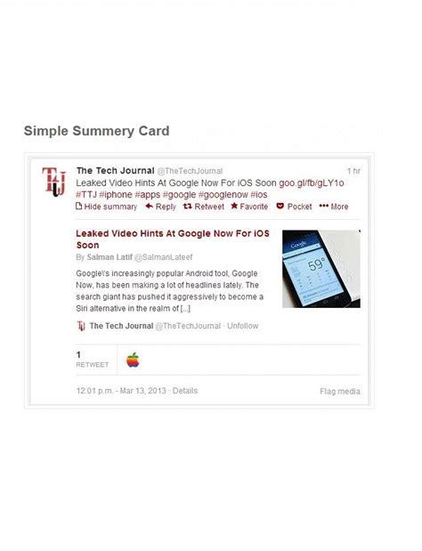Summary Card With Large Image