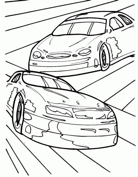 nascar coloring pages nascar coloring page coloring home