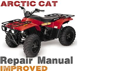 2001 arctic cat 250 300 400 500 atv service repair