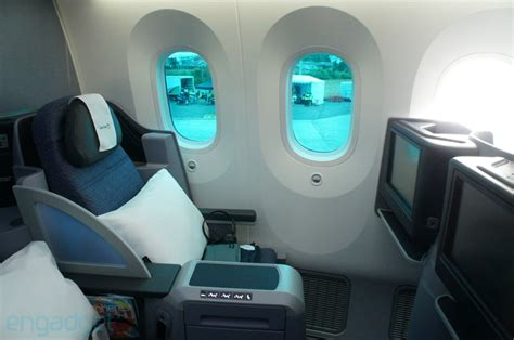 United Dreamliner Interior by Engadget Technology News Advice And Features