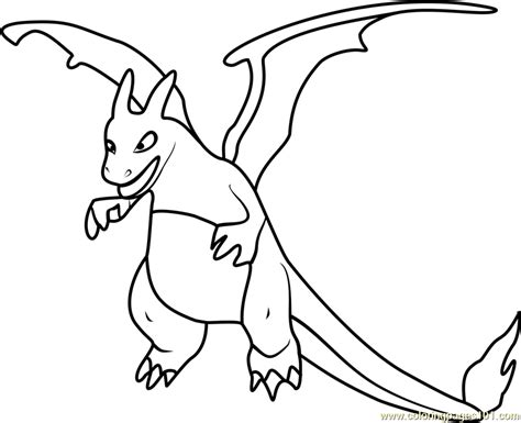 charizard coloring pages charizard go coloring page free pok 233 mon go