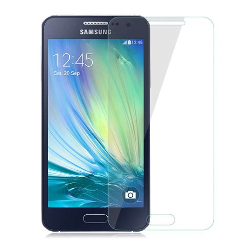 Tempered Glass List Warna For Samsung Galaxy A3 2017 genuine 9h tempered glass screen protector for samsung