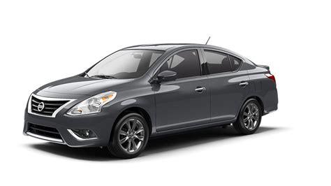 2016 Nissan Versa Sedan color options