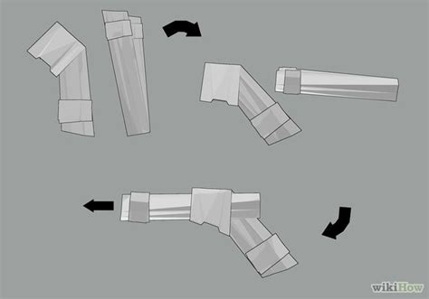 How To Make A Paper Gun That Shoots - how to make a paper gun that shoots 11 steps with pictures