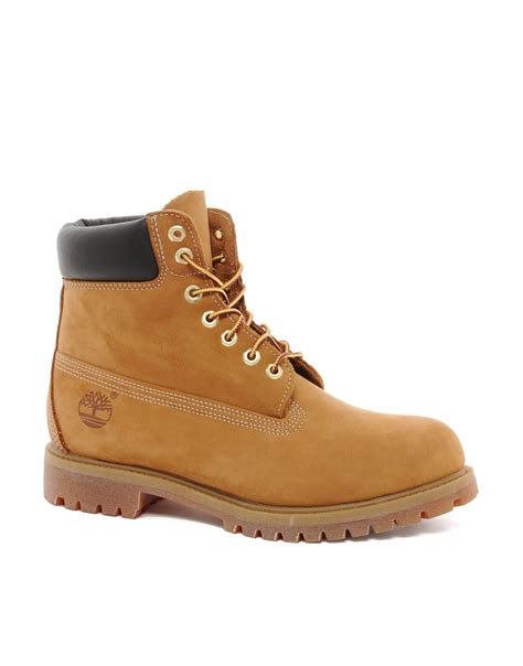 timberland boots for timberland classic 6 quot premium boots in brown for