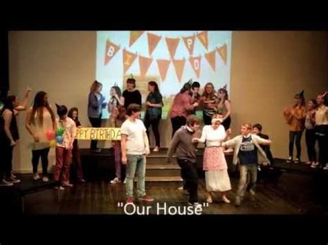 our house musical characters our house musical youtube