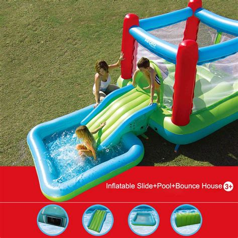 electric bounce house compare prices on castle inflatable pool online shopping