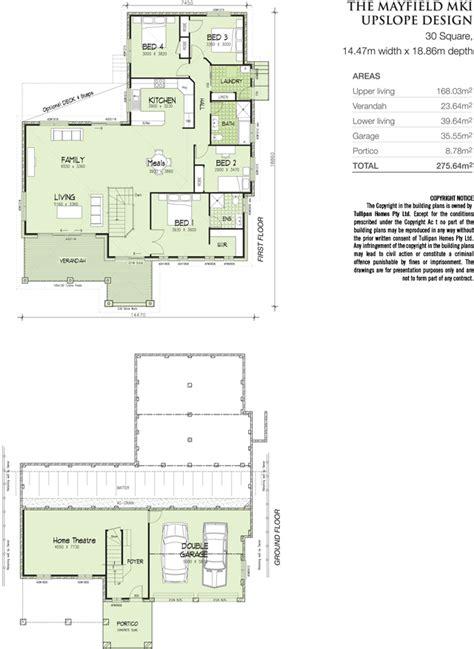 upslope house designs mayfield mk1 upslope 30 squares home design tullipan homes