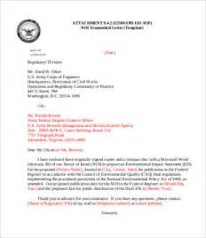 Transmittal Letter Army Pin Transmittal Letter On