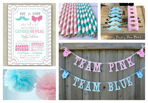 Baby Shower Gender Reveal Ideas by Gender Reveal Baby Shower