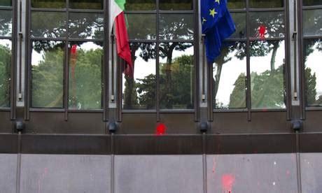 sede finmeccanica roma libia blitz a roma contro sede finmeccanica photostory