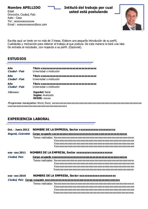 Descargar Plantilla De Curriculum Vitae Gratis En Español Cirriculem Vitea Morningperson Co Stupefying Modelos De Resume 13 17 Best Ideas About Modelos