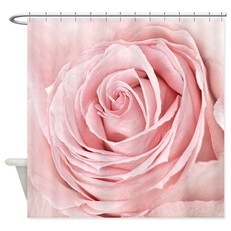 rose colored drapes pink rose shower curtain by bestshowercurtains