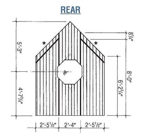 garden shed plans blueprints  making  wooden