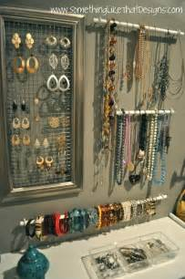 1000 ideas about jewelry organizer wall on
