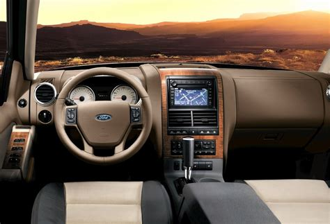 how petrol cars work 2005 ford explorer interior lighting 2007 ford explorer history pictures value auction sales research and news