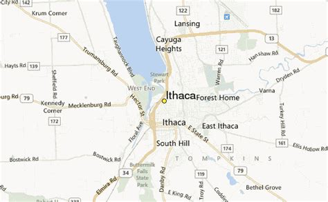 ithaca weather station record historical weather for