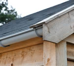 Shed Guttering Kit by 65mm Guttering For Log Cabins And Garden Buildings