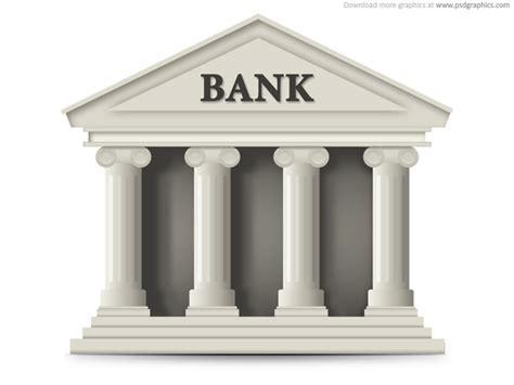 banca bank bank building icon psd psdgraphics