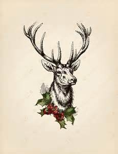 doe a deer a female deer the spirit of mother christmas