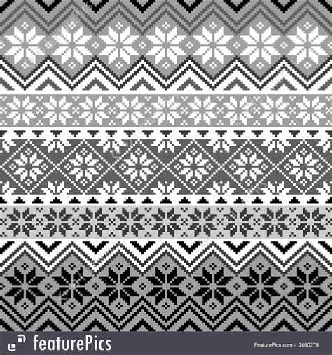 Nordic Pattern Illustrator | abstract patterns nordic snowflake pattern stock
