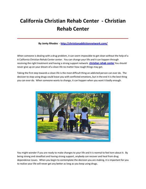 Christian Detox Centers by Christian Rehab Center By Lkjiohgbb Issuu