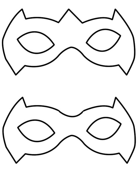 nightwing mask template 612 x