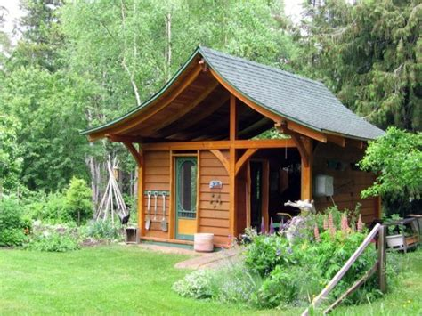 garden houses made of wood and compact garden shed