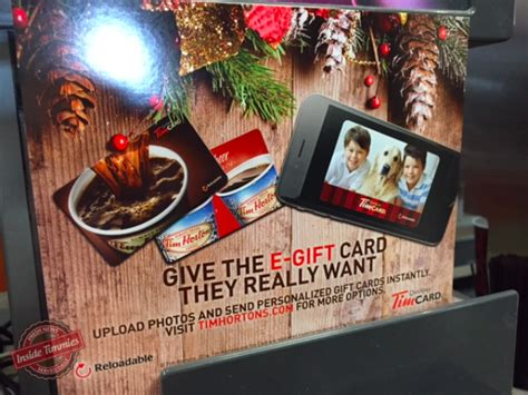 Tim Hortons Gift Card Canada - tim hortons rolls out e gift cards in canada inside timmies