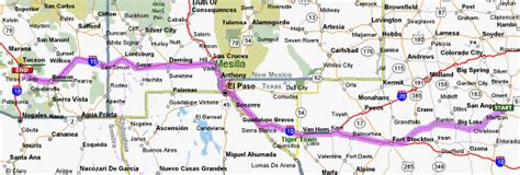 new mexico and texas map texas new mexico arizona map afputra