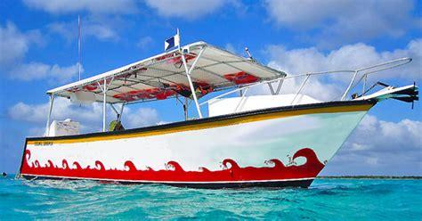 glass bottom boat cancun palancar reef snorkeling tour cozumel columbia reef