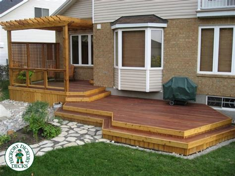 House Plans With Pools And Outdoor Kitchens by Here Is A Two Level Tiger Deck Built With Tigerwood From South