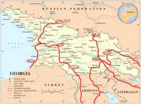 kazbegi map map