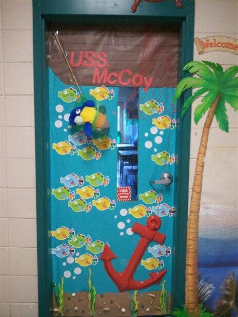 The Sea Classroom Decorations by Sea Themed Door Classroom Theme