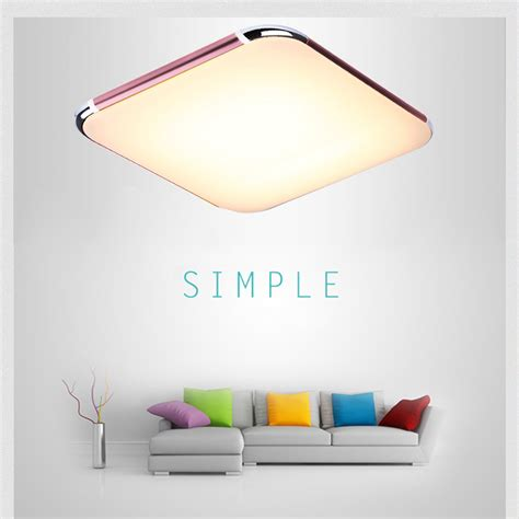 Colour Changing Led Ceiling Lights Color Changing Rgb 2 4gwireless Remote 30w Led Ceiling Light Living Room Kitchen Ebay