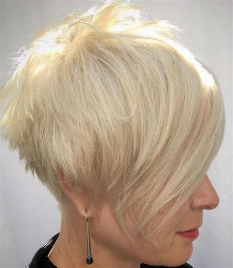 pixie haircuts with long bangs with veiw of front sides and back 60 gorgeous long pixie hairstyles