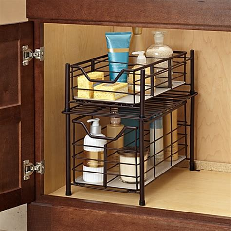 Bathroom Cabinet Organizer by Buy Bathroom Organizers From Bed Bath Beyond