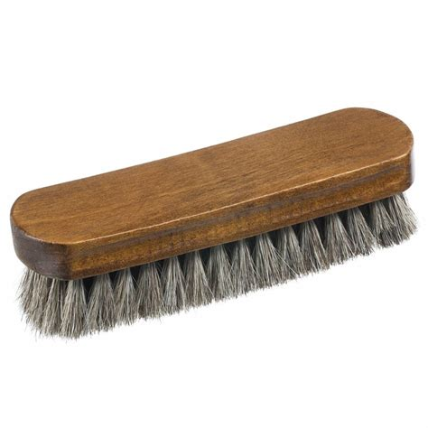 home it shoe brush horsehair large boot and shoe shine and