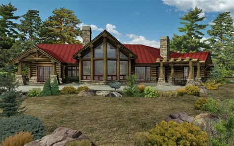 log house designs inc kodiak trail ii log home floor plan by wisconsin log homes