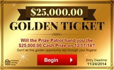 Pch Golden Ticket - 1000 images about pch on pinterest publisher clearing house online sweepstakes and