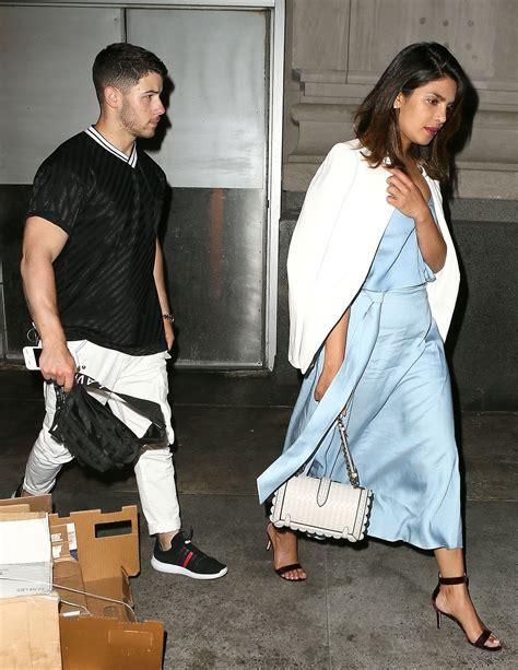 Nick And by Priyanka Chopra And Nick Jonas Step Out For N Y C Dinner