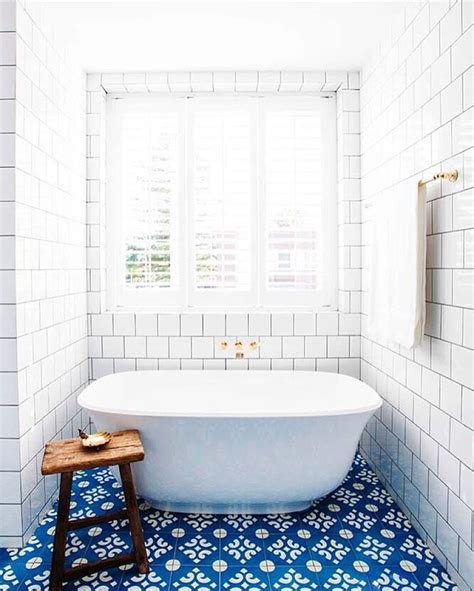 blue tile bathroom the 25 best ideas about bathroom floor tiles on pinterest