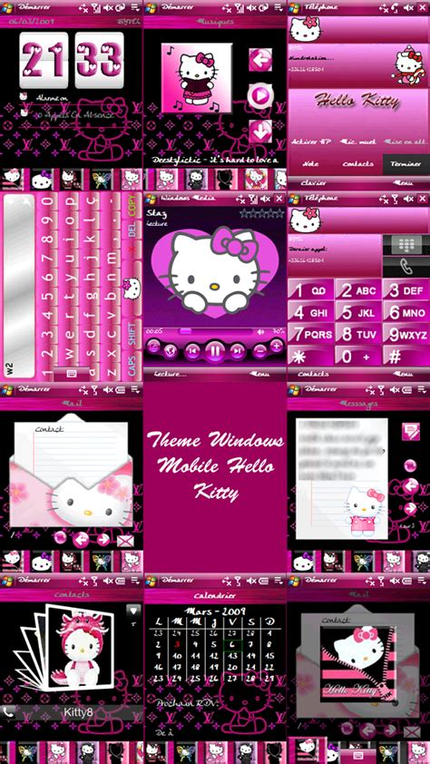 hello kitty themes for windows 8 1 free download hello kitty theme for ppc by ladypinkilicious on deviantart