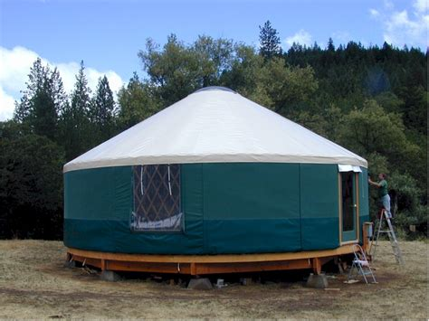 Yurt House Alternative Homes Fit Living Daily
