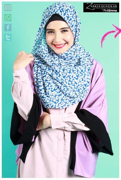 desain baju zaskia contoh foto baju muslim modern terbaru 2016 desain model