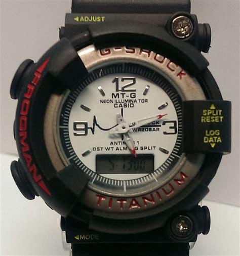 Jam Tangan Pria Casio G Shock Batman Black Waterresist casio g shock frogman mt g dw 8200 titanium digital 200m