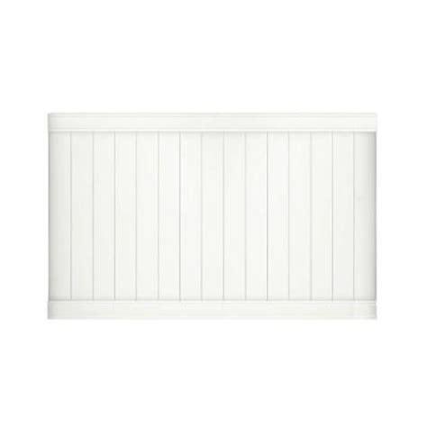 veranda pro series 4 ft x 8 ft vinyl woodbridge privacy